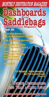 Dashboards and Saddlebags The Destination Magazine™ March 2013