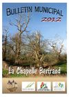 Bulletin municipal Chapelle Bertrand 2013