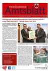 Amtsblatt der Stadt Wernigerode - Ausgabe 2 / 2013
