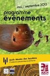 Programme Evenements Musee d'Auch de mai à sept 013
