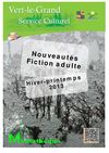 Nouveauts fiction adulte hiver-printemps 2013