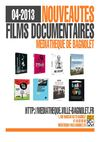 Nouveauts Films documentaires Avril 2013