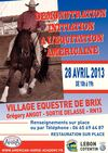 Affiche DEMONSTRATION INITIATION A L'EQUITATION AMERICAINE