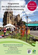 Programme des manifestations 2013 en Pays de Montmédy - Année Renaissance 2013