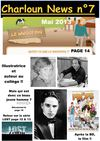 Journal Charloun News N°7 - Mai 2013