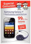 Especial comuniones con Samsung galaxy