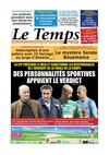 Le Temps d&#039;Algrie Edition du Jeudi 09 Mai 2013