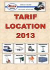 DENIS LOCATIONS - TARIF 2013