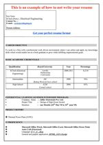 8 Freshers Resume Samples Examples  Download Now!