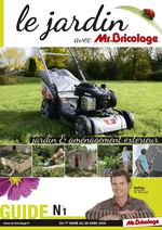 Calam o guide jardin 2014 mr bricolage for Guide jardin 2015 mr bricolage