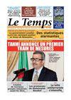 Le Temps d'Algérie Edition du Mardi 02 Septembre 2014